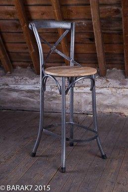 Meuble Industriel Tous Les Meubles Industriels B A R A K 7 Chaise Haute Cuisine Chaise Chaise De Bar Industriel