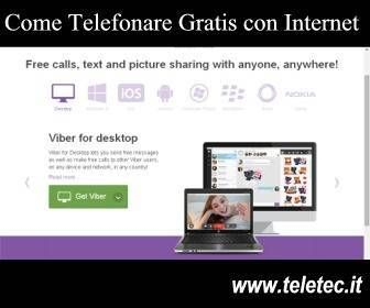 Come telefonare gratis con internet (Photo Credits Web)