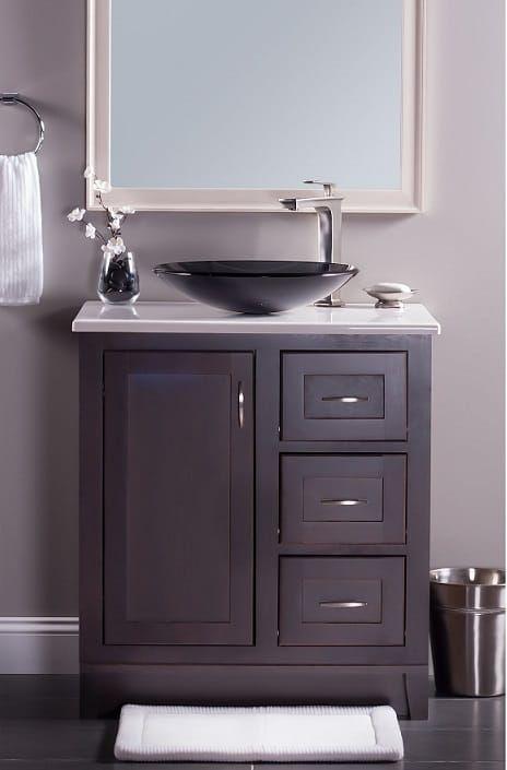 Low Profile Bathroom Sink Novatto Low Profile Sink Review Vanity Bathroom Vanity Bathroom
