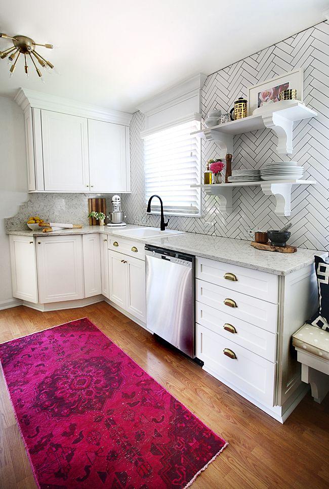 Kitchen Reveal with Martha Stewart Living™ wellstone, home depot ...