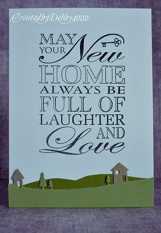 New Home A Scrapjourney Verses For Cards Card Sayings New Home Quotes