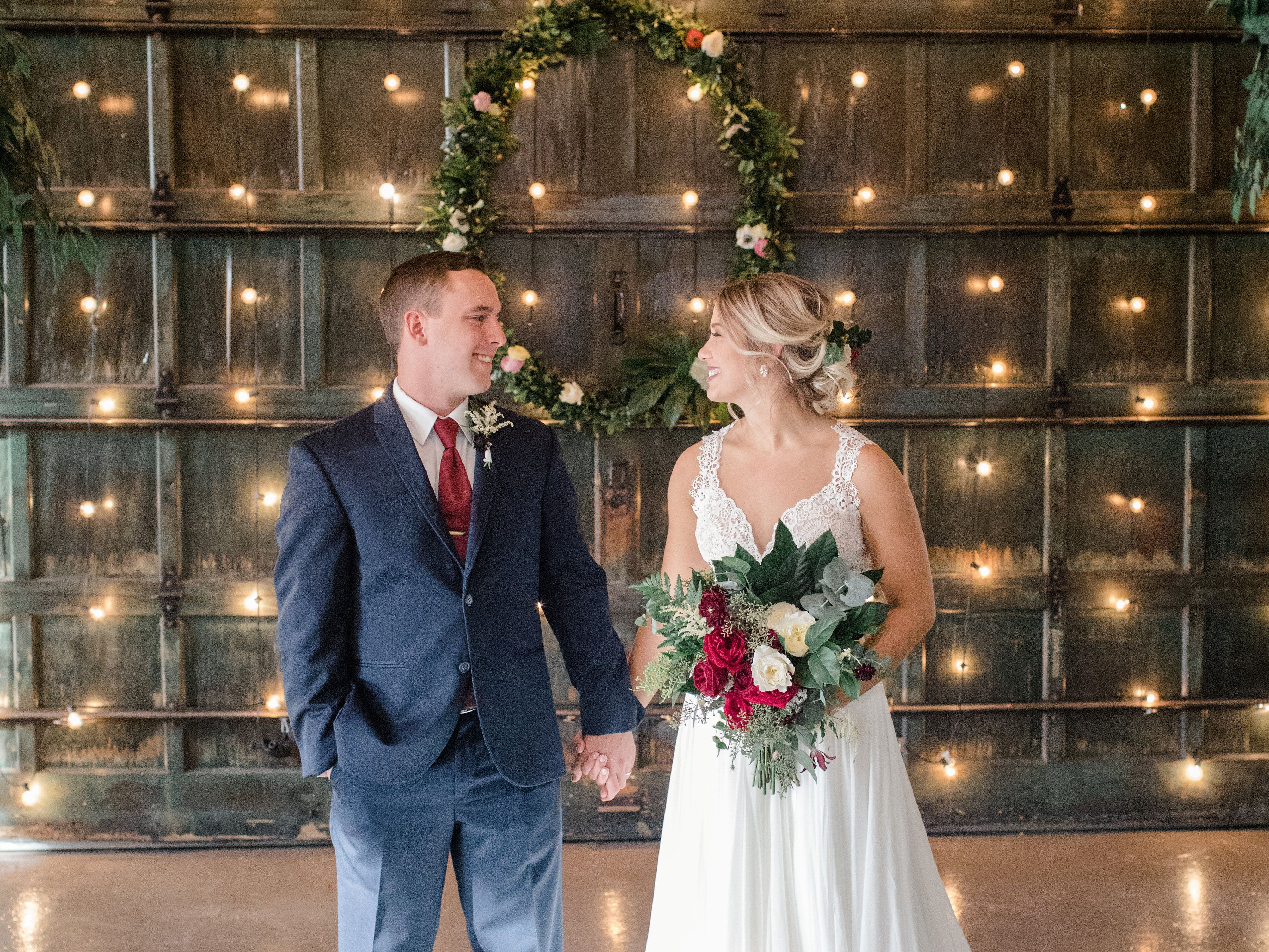 Michelle And Scott Had A Dreamy Wedding At Soho South Their Wedding Was Filled With Family And Friends Along With Savannah Wedding Wedding Candle Lit Wedding