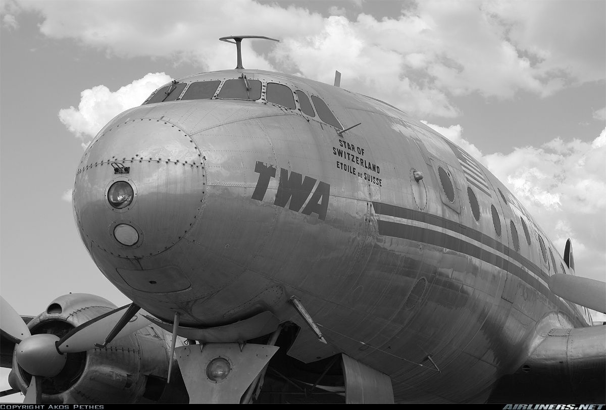 Lockheed L-049 Constellation N90831 / 517 (cn 1970) Preserved at the Pima Air and Space Museum. Unfortunately not that glossy... Ex-USAAF C-69 42-94549