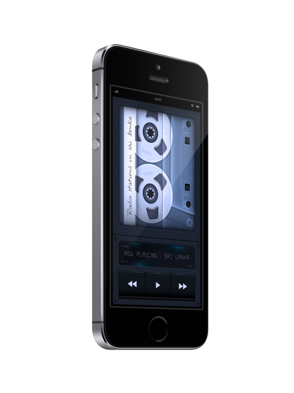 Radio app / Podcast Player Design iPhone_002 by Ishan