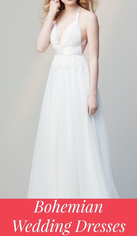 Bohochic wedding dresses and ideas inspiration pinterest