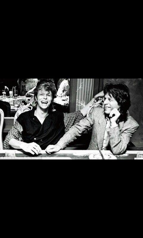 Mick and David <3