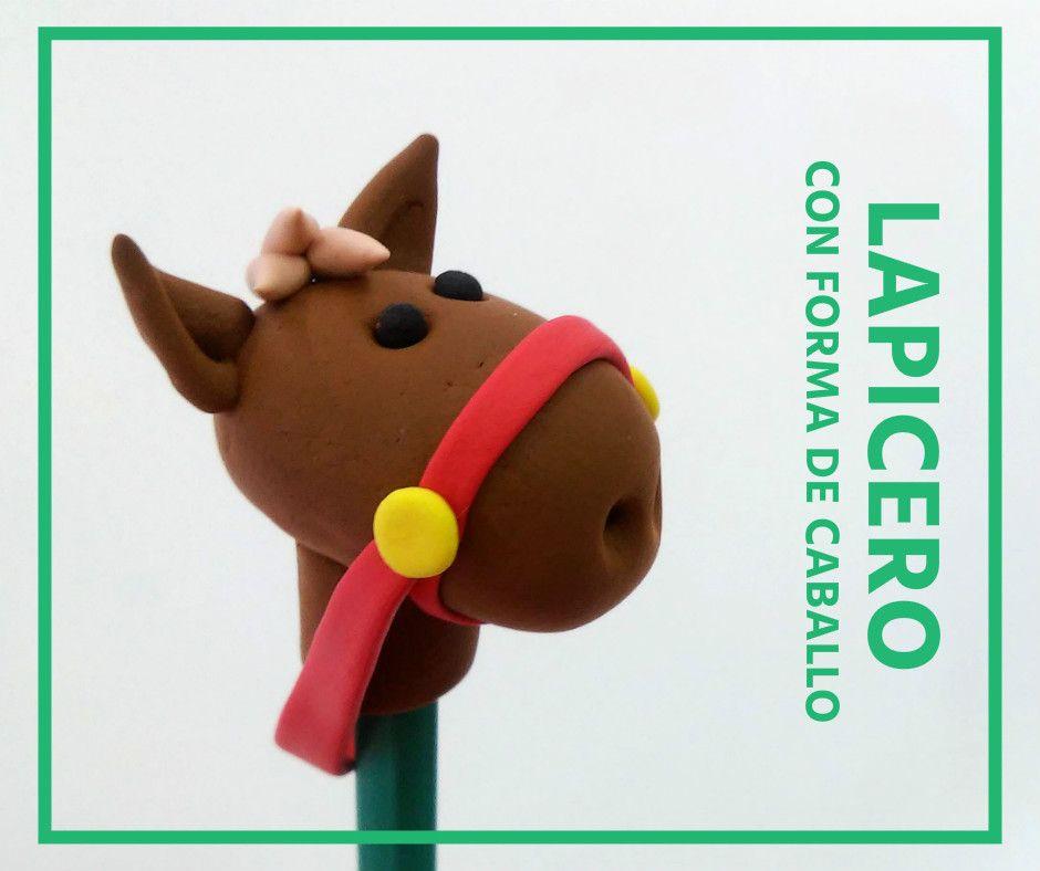 Cómo hacer un lapicero con forma de caballo - http://www.manualidadeson.com/lapicero-con-forma-de-caballo.html