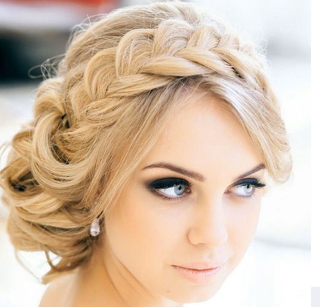 Wedding hair  Hair  Pinterest  Weddings Hair style and Makeup