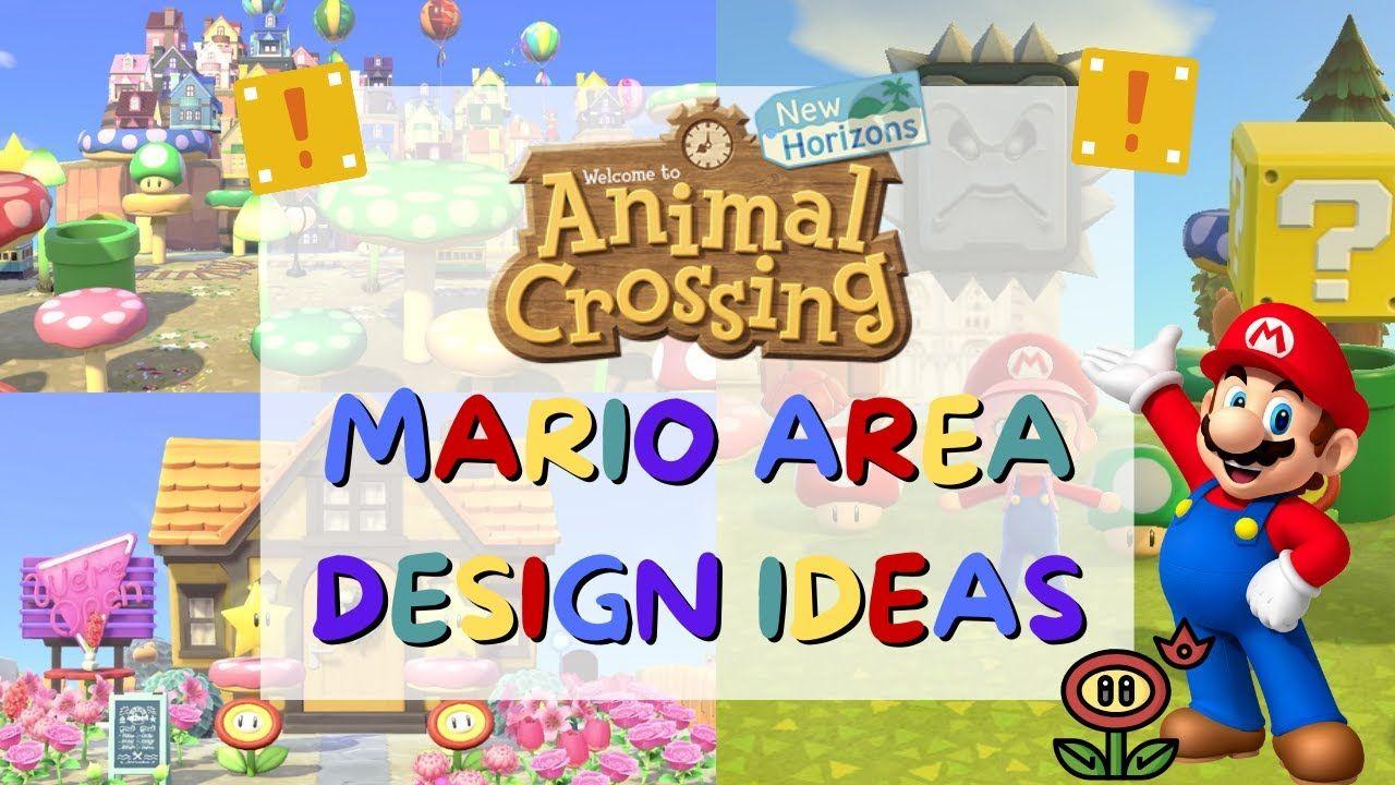 Mario Area Design Ideas For Your Animal Crossing New Horizons Island Mario Update Acnh Mario Items Youtube In 2021 Animal Crossing Cafe Animal Crossing Mario