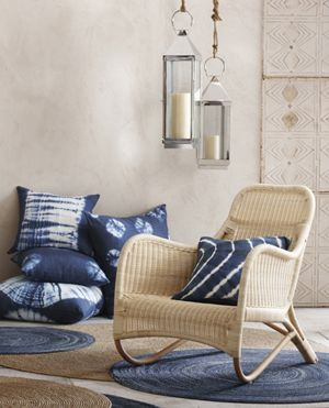 Wonderful Roost Home Furnishings: Indigo Blue Pillows