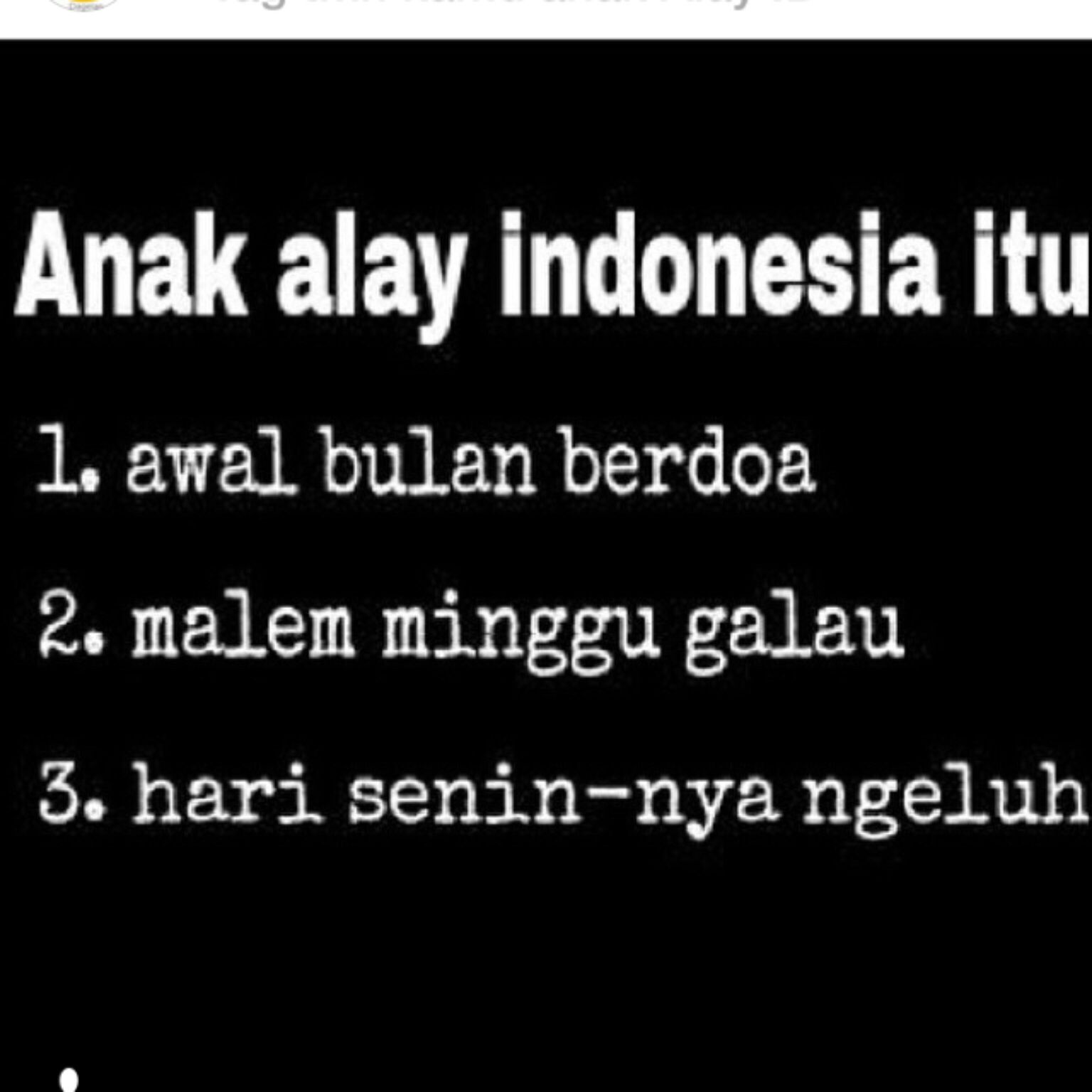 Anak Alay Indonesia