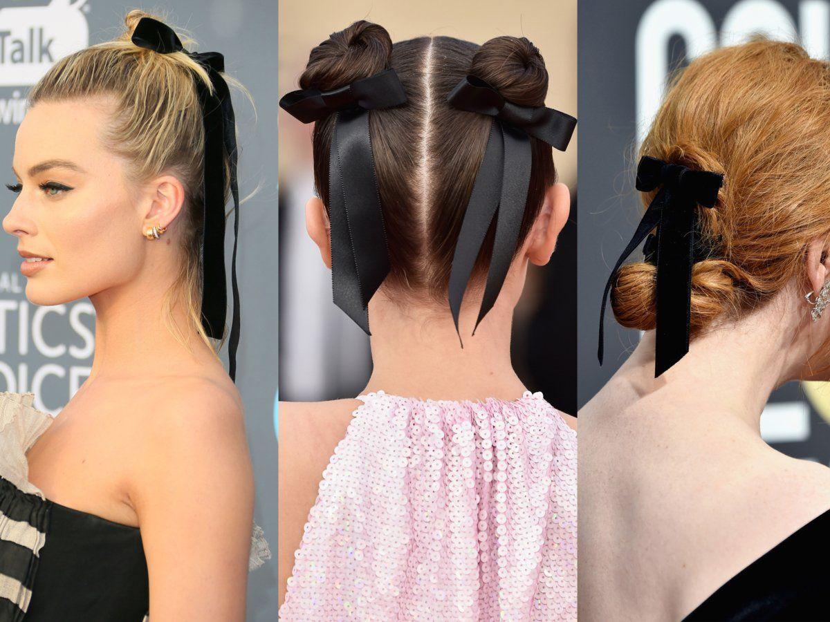 Haarschleifen Und Co Frisuren Mit Schleife Frisuren Haare Haarschleife
