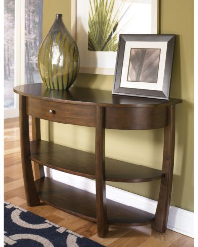 Lazy Boy sofa table | House Furniture | Wooden console table, Sofa ...