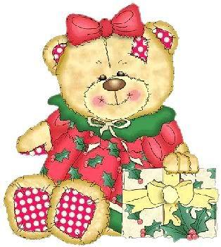 Christmas teddy bear - Christmas Photo (25136249) - Fanpop   TEDDY ...