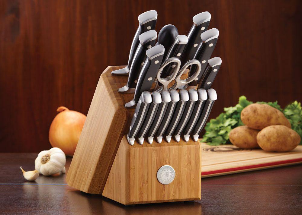 Royal Prestige Los Mejores Utensilios De Cocina Presenta Los Cuchillos Precision Series 3 Elaborados Con Una Aleacion D Cuchillos De Cocina Utensilios Ollas