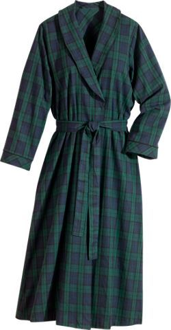 41547b57c5 Womens Portuguese flannel wrap robe features a classic shawl collar ...