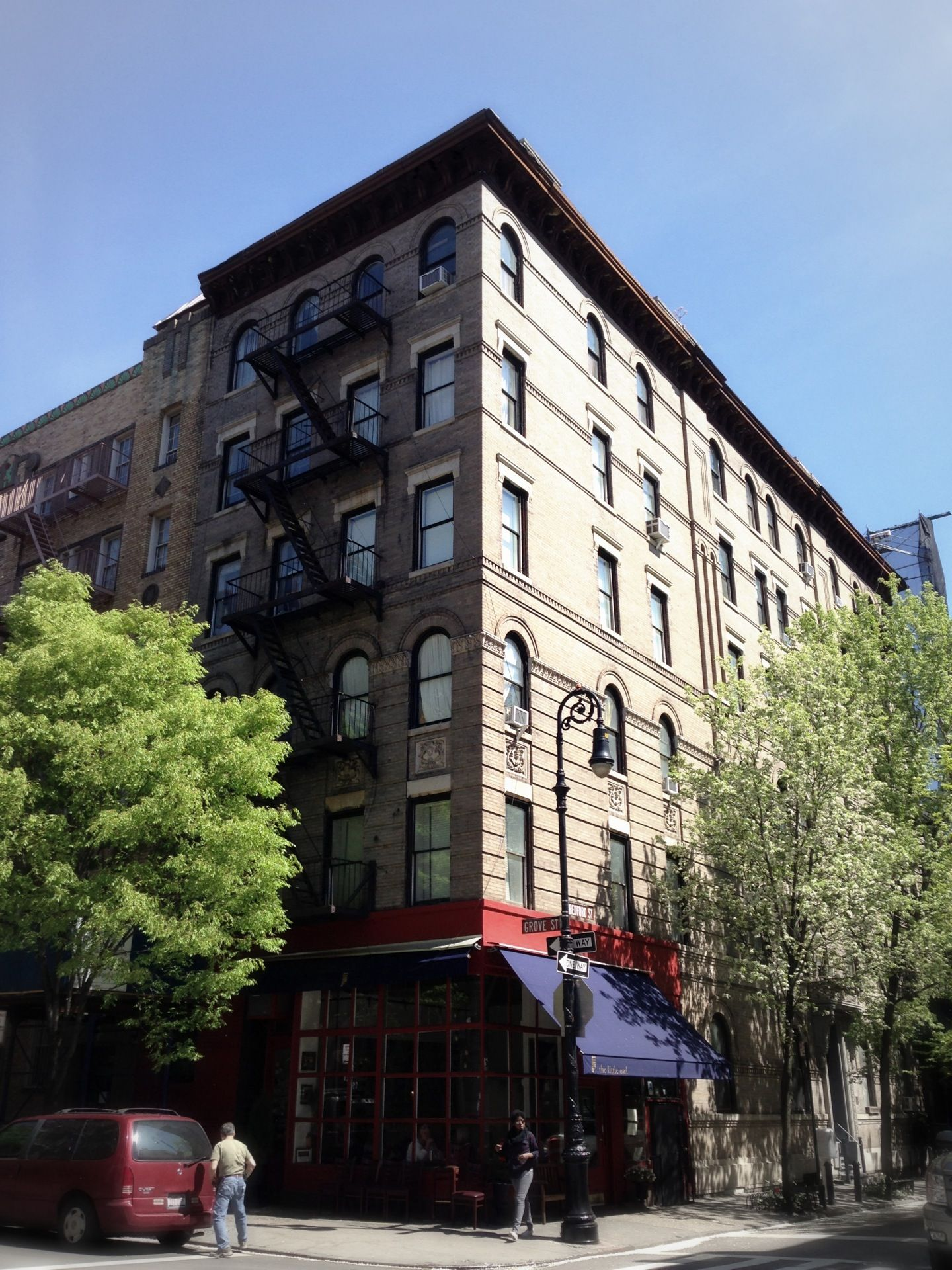 Friends Apartment Building in New York NY Exterior shots of the