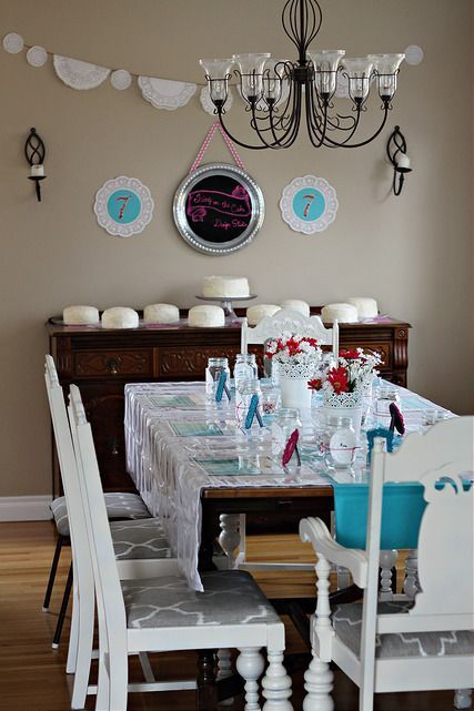 How To Plan The Ultimate Cake Decorating Party, Cake Decorating Party Decor  Doilies Sprinkles