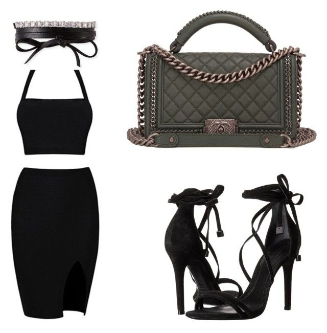 Casual by paislea-gareave on Polyvore featuring polyvore, fashion, style, Schutz, Chanel, Fallon and clothing