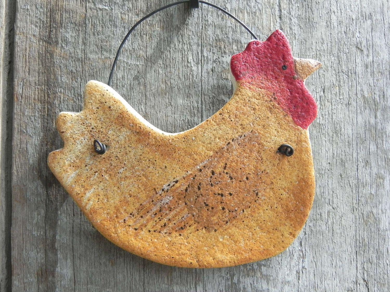 Salt Dough Chicken Ornament Etsy Chicken Crafts Salt Dough Salt Dough Crafts