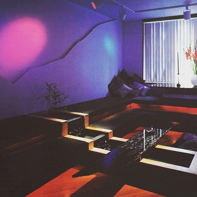 Futuristic Home Decor: 80s Interior Design, Retro Interior