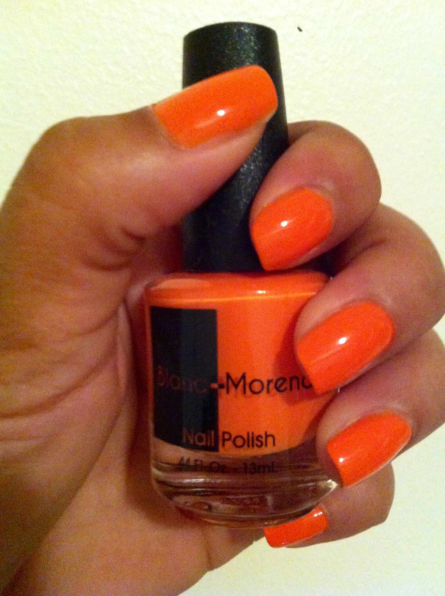 Nails in I AM Awesome! #trendynails #orangenails #4free #nailpolish ...