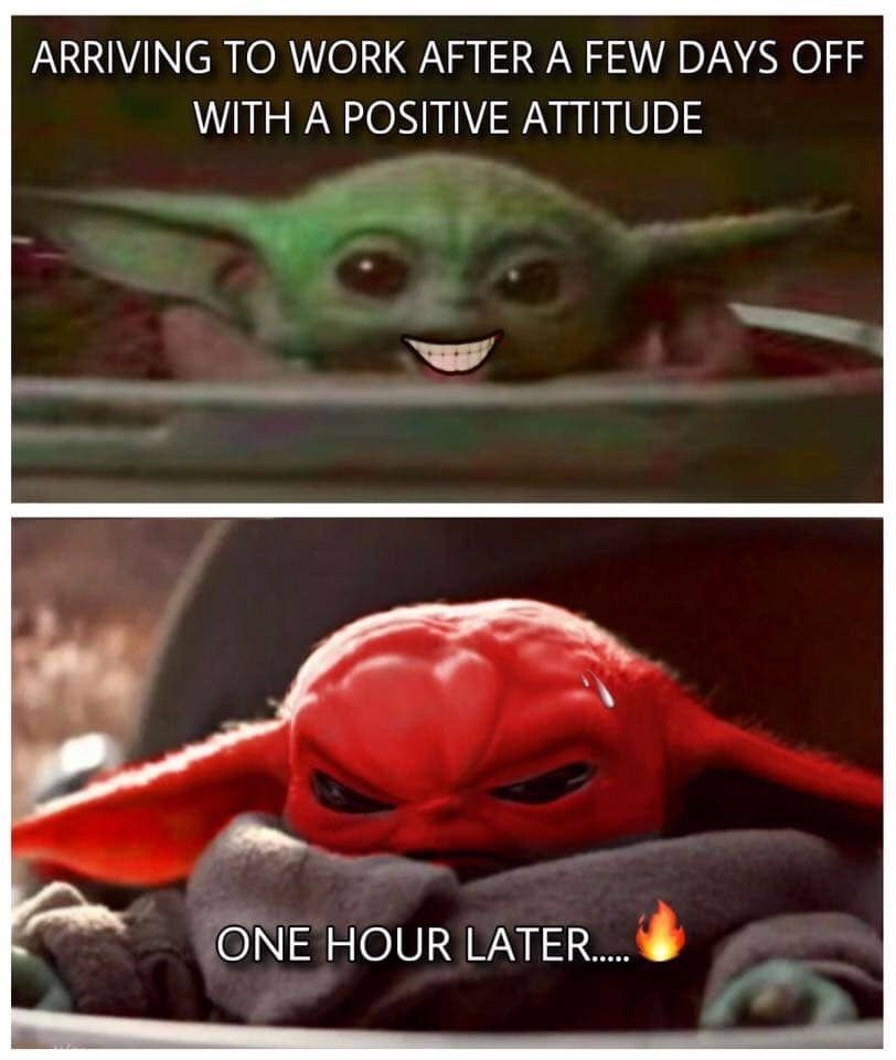 Pin By Landis De La Pena Amador On Baby Yoda Yoda Funny Really Funny Memes Yoda Meme