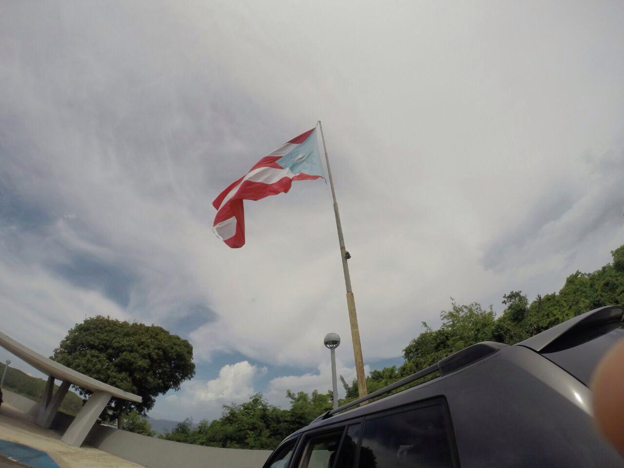 Mi Bandera en Quebradilla, Puerto Rico