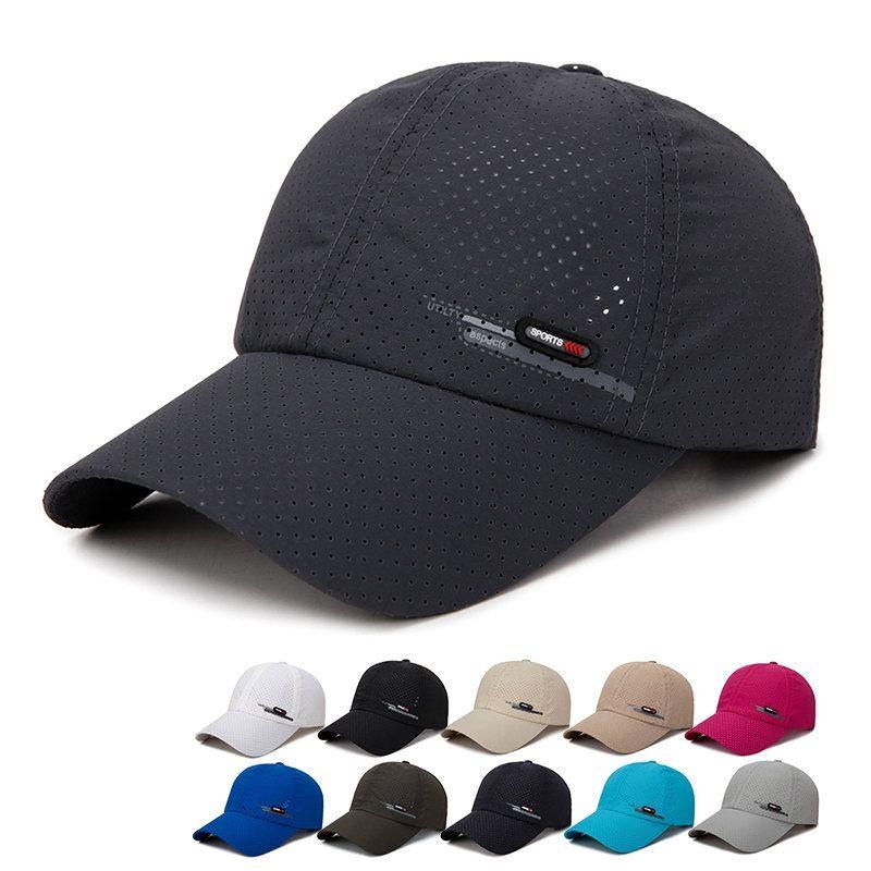 Men S Summer Breathable Adjustable Mesh Hat Quick Dry Cap Outdoor Sports Climbing Baseball Cap Mesh Hat Mesh Cap Mens Caps