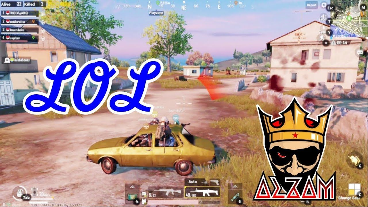 Fun to Ride The Car | PUBG MOBILE Gameplay PC (Emulator