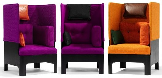 Perfect Koja: The Koja High Back Easy Chair By Fredrik Mattson For Blasatation, Is  Fun