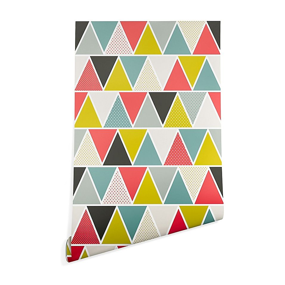 Deny Designs Heather Dutton Triangulum Peel and Stick Wallpaper
