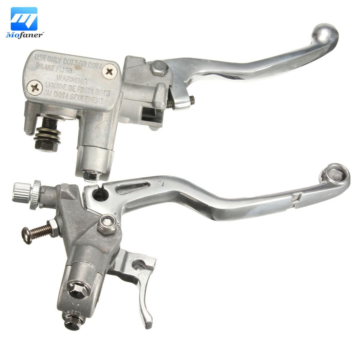 Clutch lever Pair Black Aluminum Motorcycle Brake /& Clutch Lever For Honda CG 125 Cable Front Brake Motorcycle Accessories