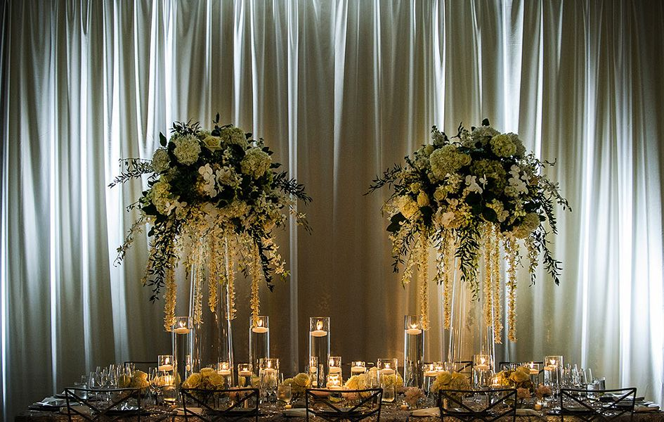 Draped Ballroom Wedding | CERental.com