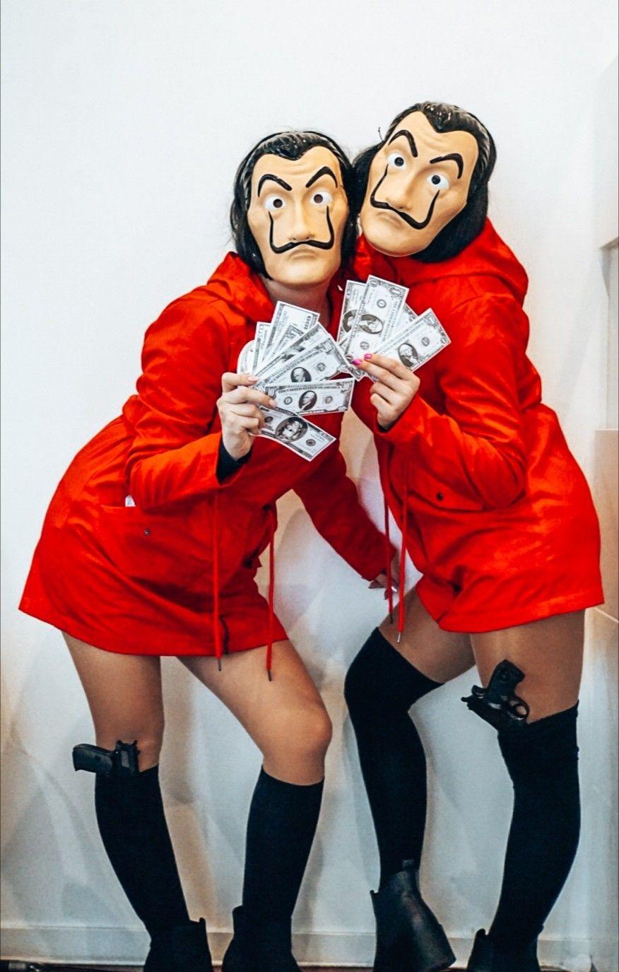 Haus Des Geldes Kostum La Casa De Papel Karneval Kostum Damen Fasching Kostume Damen Faschingskostum Damen