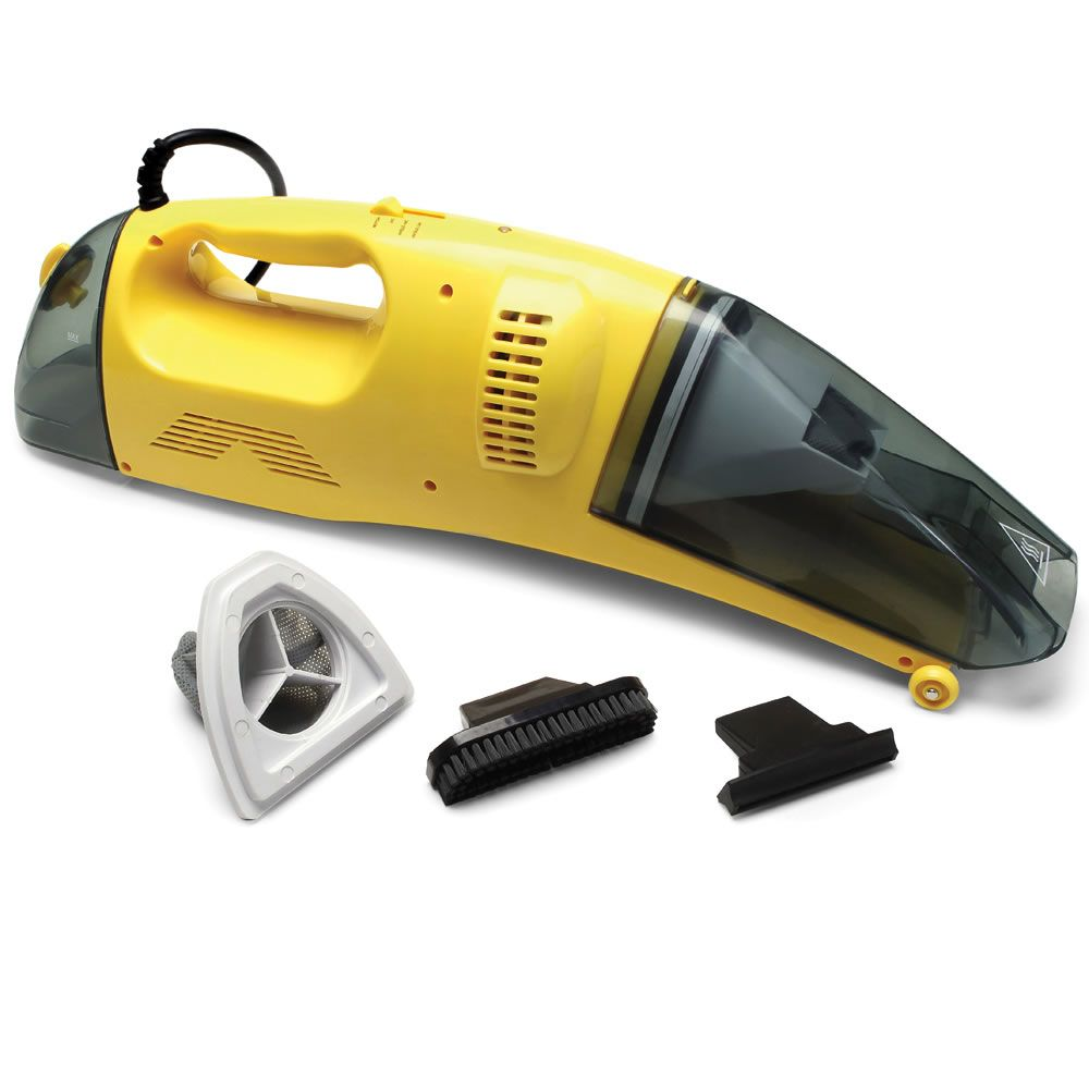 The Only Handheld Wet/Dry Steam Vacuum for Car Steam