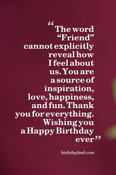 Top Heart Touching Birthday Wishes For Best Friend