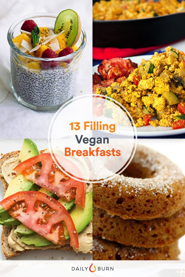 13 Vegan Breakfast Recipes You Ll Want Every Morning Healthy Breakfast Recipes Vegetarian Breakfast Recipes Vegan Breakfast Recipes