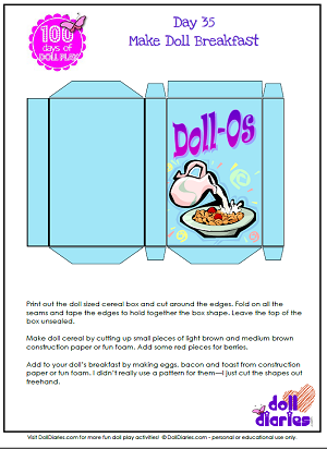 Doll play day 35 make breakfast for your dolls american girl dolls doll play day 35 make breakfast for your dolls ccuart Choice Image