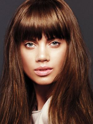 Wispy Layered Bangs With Long Hair - Cute Ways to Cut Your Bangs