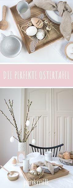 Die perfekte Ostertafel im ScandiLook