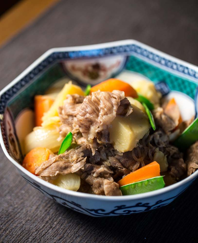 Japanese meat and potatoes (nikujaga) | Japanese ...