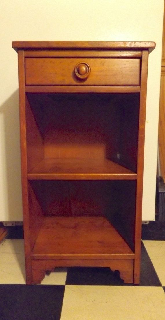 Fine Primitive Ethan Allen Nightstand 1930S Rustic Maple By Download Free Architecture Designs Intelgarnamadebymaigaardcom