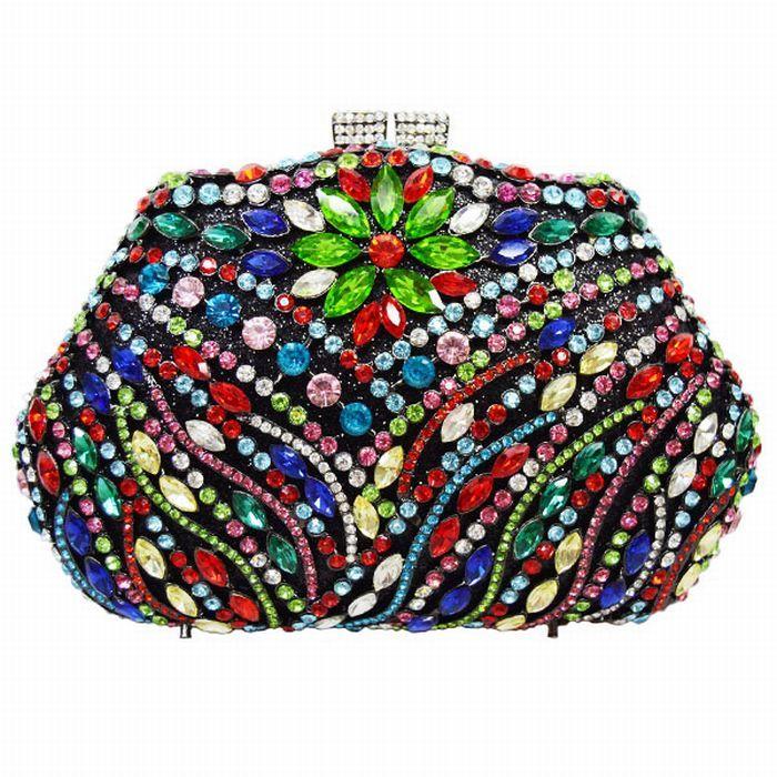 Evening Bag Luxury Crystal Evening Clutch Bag Rhinestone Bag Party Purse Pochette Women_12     https://www.lacekingdom.com/