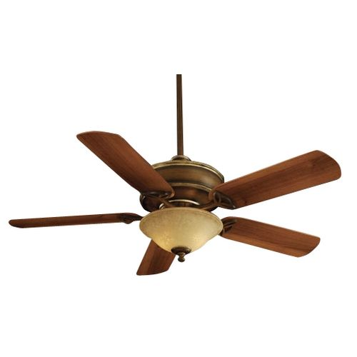 52 inch ceiling fan with five blades and light kit
