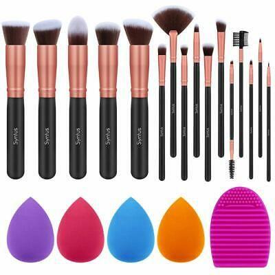Details about Makeup Brush Set 16 Brushes & 4 Blender