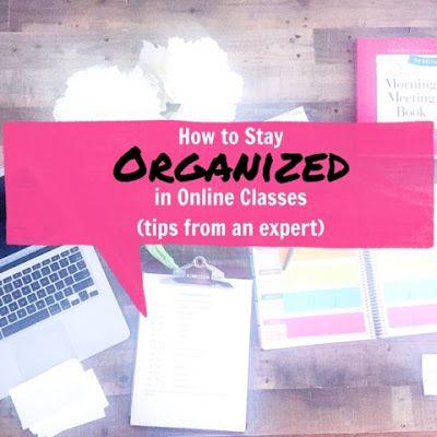 Organized Charm | Bloglovin' #onlineclasses