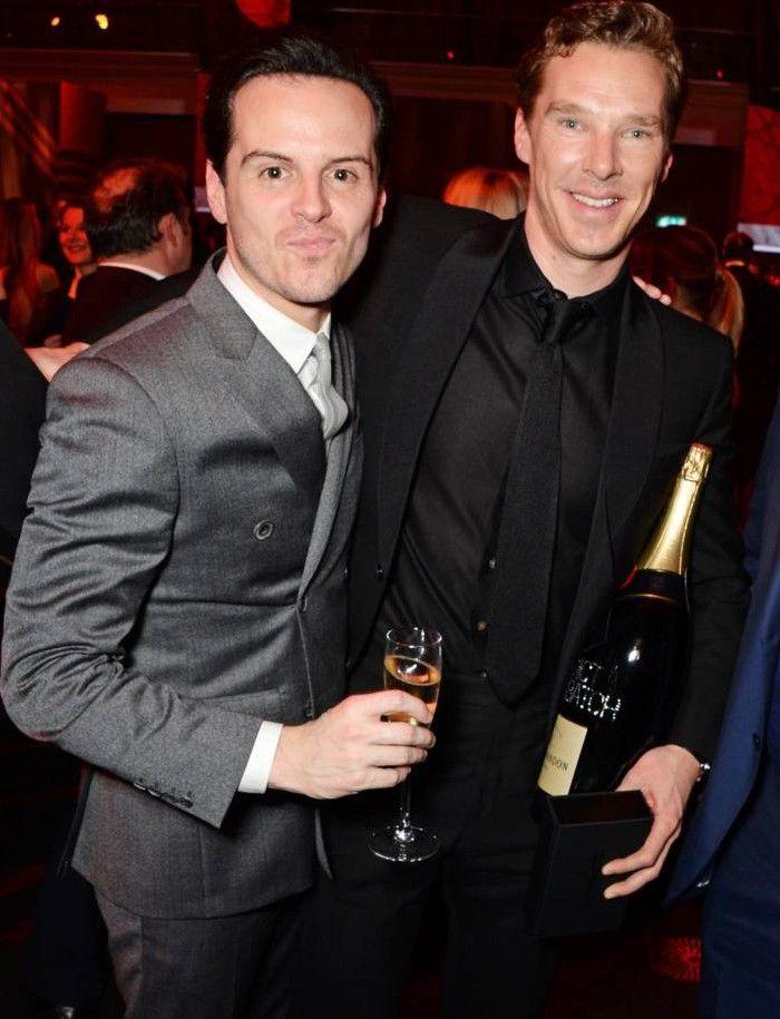 7b86f26047c73a Awwww, Benedict Cumberbatch and Andrew Scott are BFFs | Andrew Scott ...