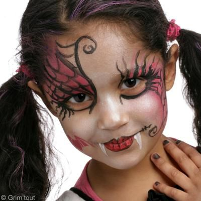 Maquillage Halloween  Draculaura de Monster High - Idées conseils - maquillaje de halloween para nios