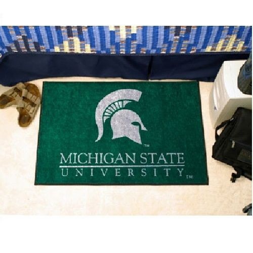 Michigan State Spartans Starter Area Rug Floor Mat 20 Quot X